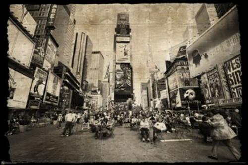 New York City Times Square Poster Poster Print - Item # VARSCO9005
