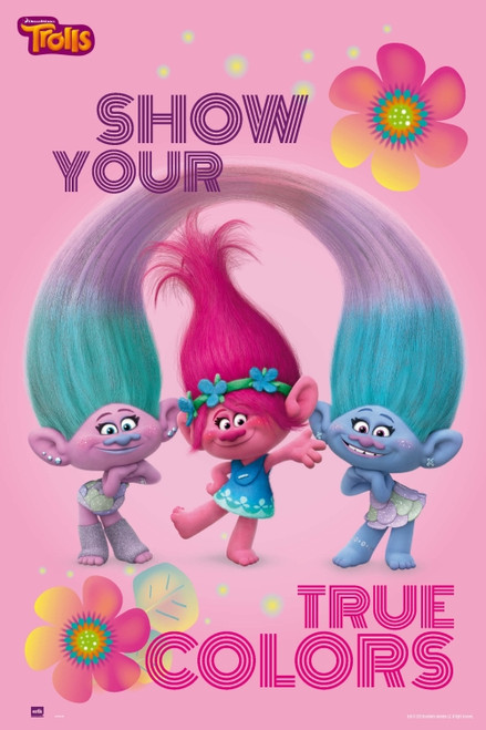 Trolls Show Your True Colors Poster Poster Print - Item # VARGPE5059