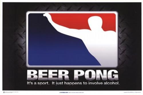 Beer Pong - It's a Sport Poster Poster Print - Item # VARIMPST4962R