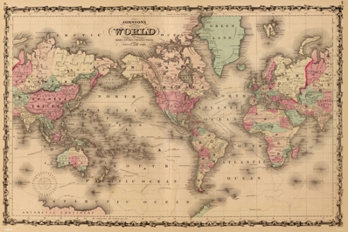 Old World Map Poster Poster Print - Item # VARPYRPAS0474