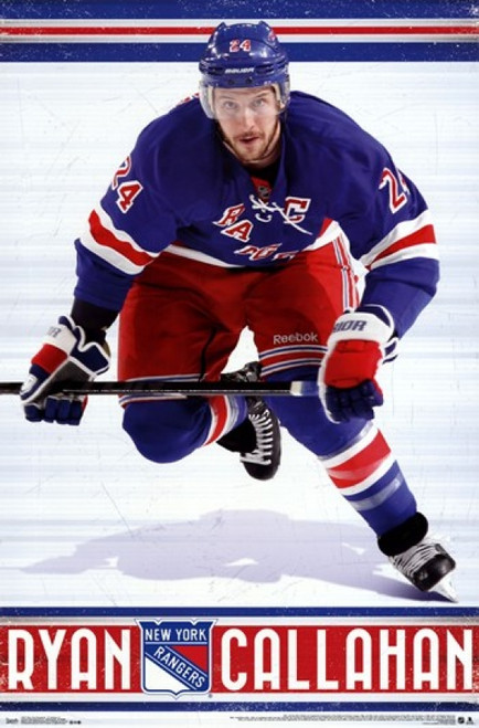 New York Rangers - R Callahan 13 Poster Poster Print - Item # VARTIARP13077