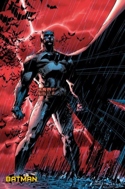 Batman Comic Red Poster Poster Print - Item # VARXPS1194