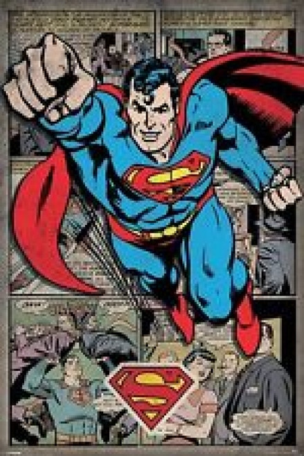 Superman Poster Poster Print by - Item # VARPYRPP33403