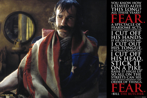 Gangs of New York - Bill the Butcher Quote Poster Poster Print - Item # VARPYRPAS0463