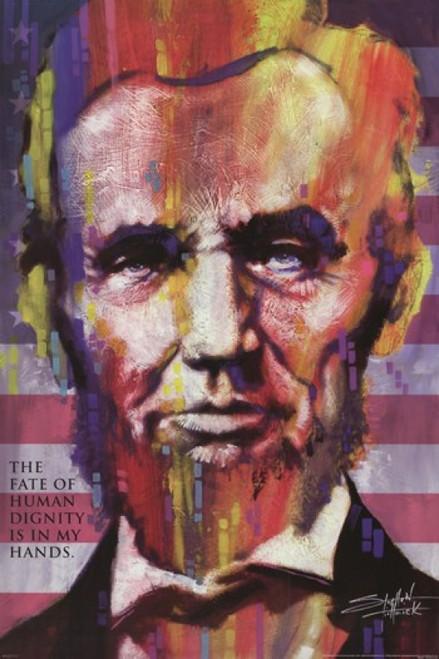 Abraham Lincoln - Stephen Fishwick Poster Poster Print - Item # VARPYRPAS0401