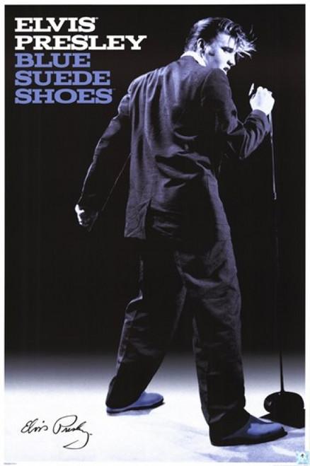 Elvis Presley - Blue Suede Shoes Poster Poster Print - Item # VARPYRPAS0184