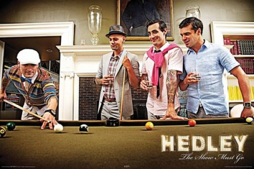 Hedley - The Show Must Go - Pool Table Poster Poster Print - Item # VARNMR24930
