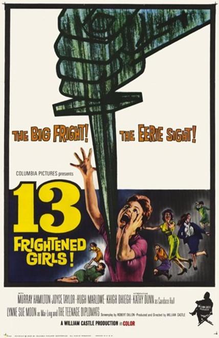 13 Frightened Girls Movie Poster (11 x 17) - Item # MOV209239