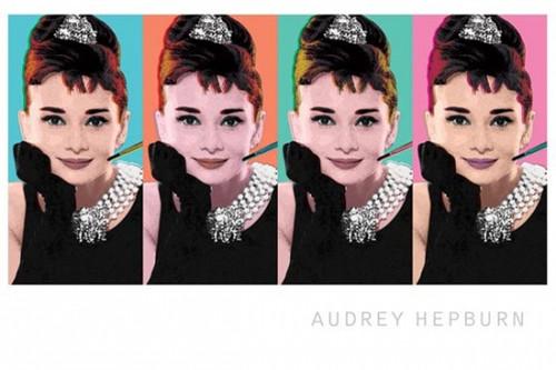Audrey Hepburn - Pop Art Poster Poster Print - Item # VARPYRPP31519