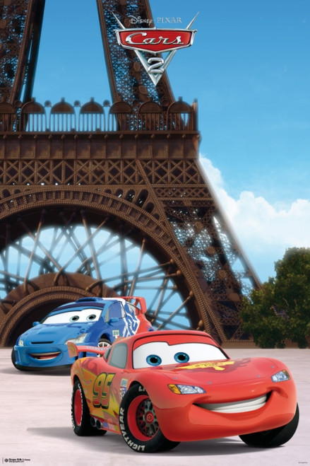 Cars 2 - Eiffel Tower Poster Poster Print - Item # VARGPE4512