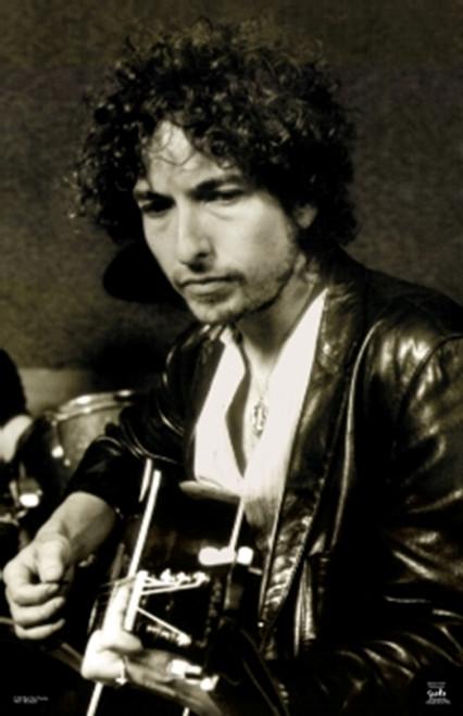 Bob Dylan Guitar Sepia Tone Poster Poster Print - Item # VARXPW50416