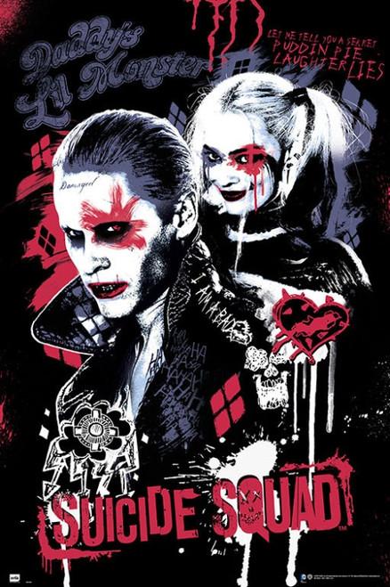 Suicide Squad Joker & Harley Quinn Poster Poster Print - Item # VARGPE5069