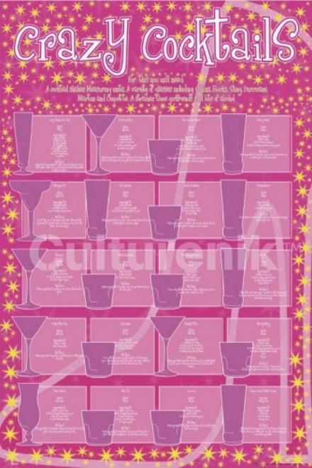 Crazy Cocktails Poster Poster Print - Item # VARIMPST4608