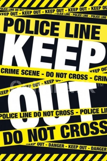 Police Tape Keep Out Poster Poster Print - Item # VARIMPST5514R
