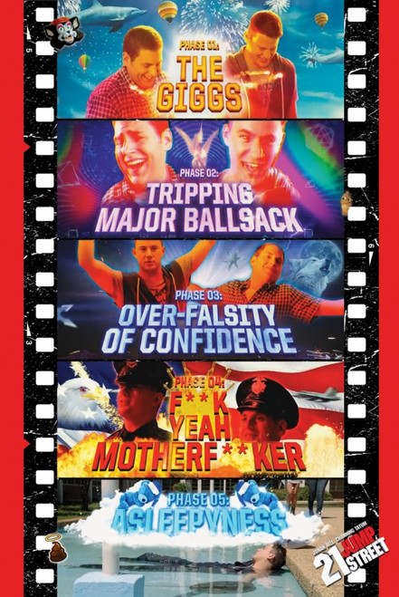 21 Jump St Movie Reel Poster Poster Print - Item # VARXPS1068