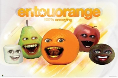Annoying Orange Entouorange Poster Poster Print - Item # VARSCO3111