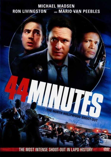 44 Minutes: The North Hollywood Shoot-Out Movie Poster Print (27 x 40) - Item # MOVAJ1541