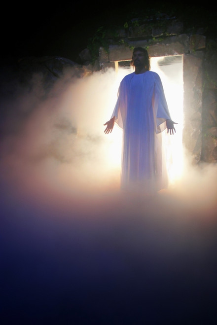 Jesus Coming Out Of The Tomb Poster Print by Christine Mariner / Design Pics - Item # VARDPI1795725