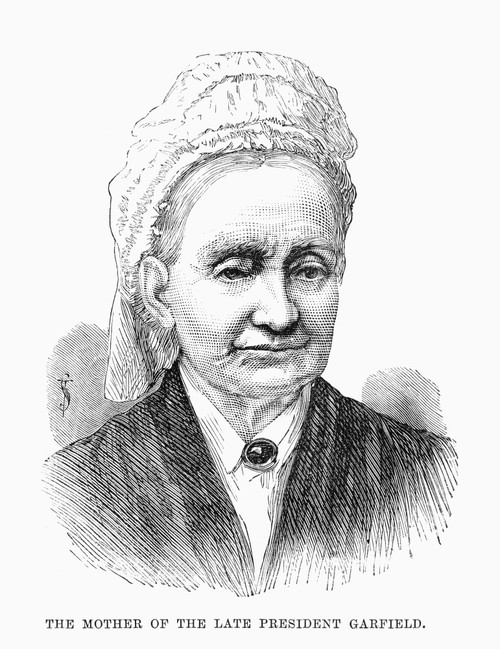 Eliza Ballou Garfield /N(1801-1888). Mother Of President James A. Garfield. Wood Engraving From An English Newspaper, 1881. Poster Print by Granger Collection - Item # VARGRC0089986