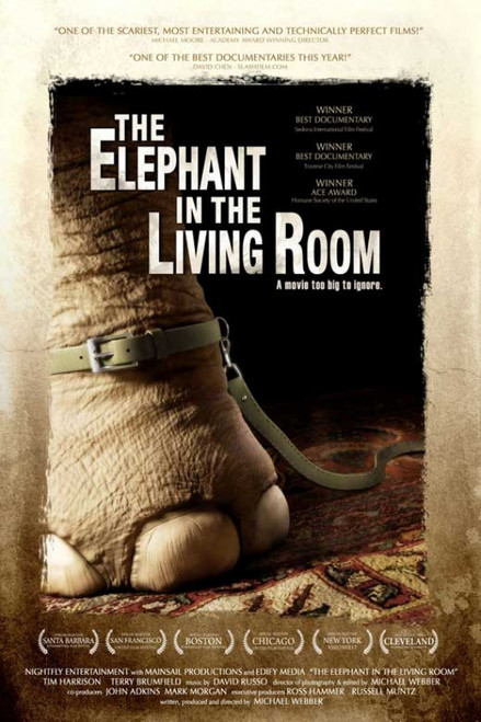 The Elephant in the Living Room Movie Poster Print (27 x 40) - Item # MOVCB04863