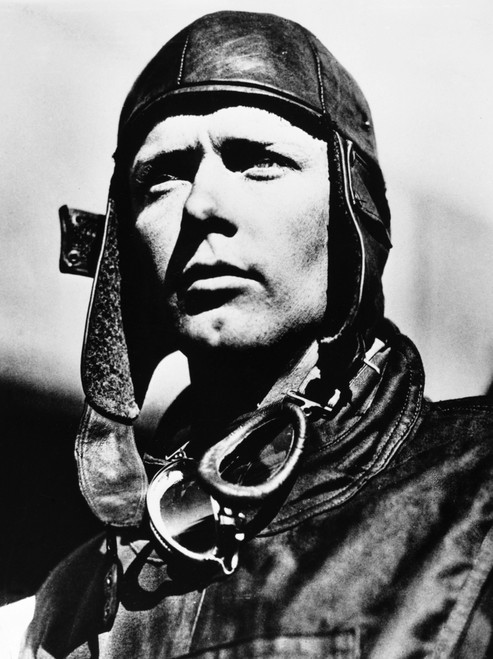 Charles Lindbergh /N(1902-1974). American Aviator. Photographed By Frank Hertz At Mitchell Field, New York, 1927. Poster Print by Granger Collection - Item # VARGRC0174958