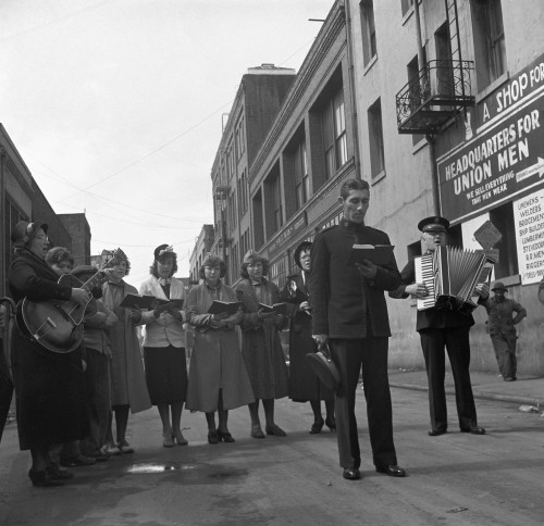 Salvation Army, 1939. /Nsalvation Army Street Band, San Francisco, California. Photograph By Dorothea Lange, April 1939. Poster Print by Granger Collection - Item # VARGRC0106734