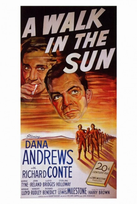 A Walk in the Sun Movie Poster Print (27 x 40) - Item # MOVIF7296