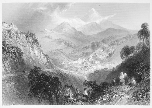 Ireland: Enniskerry, C1840. /Nsteel Engraving After William Henry Bartlett. Poster Print by Granger Collection - Item # VARGRC0066855