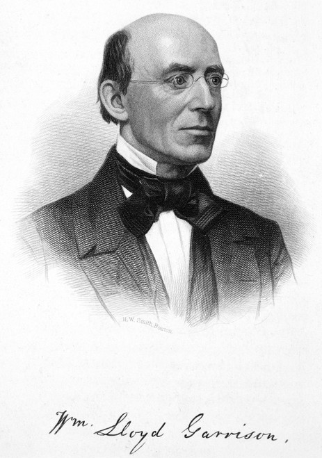 William Lloyd Garrison /N(1805-1879). American Abolitionist. Steel Engraving, 19Th Century. Poster Print by Granger Collection - Item # VARGRC0016301