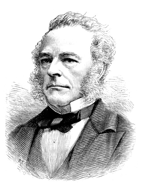 Sir George Gabriel Stokes /N(1819-1903). British (Irish Born) Mathematician And Physicist. Wood Engraving, English, 1877. Poster Print by Granger Collection - Item # VARGRC0037739