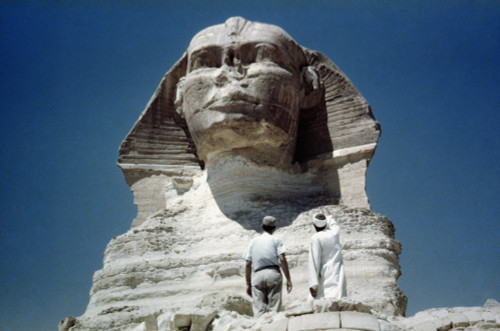 The Great Sphinx /Nat Giza, Egypt. 4Th Dynasty. Poster Print by Granger Collection - Item # VARGRC0025656