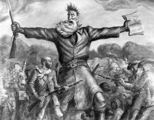 John Brown (1800-1859). /Namerican Abolitionist. Painting By John Steuart Curry (1897-1946). Poster Print by Granger Collection - Item # VARGRC0045471