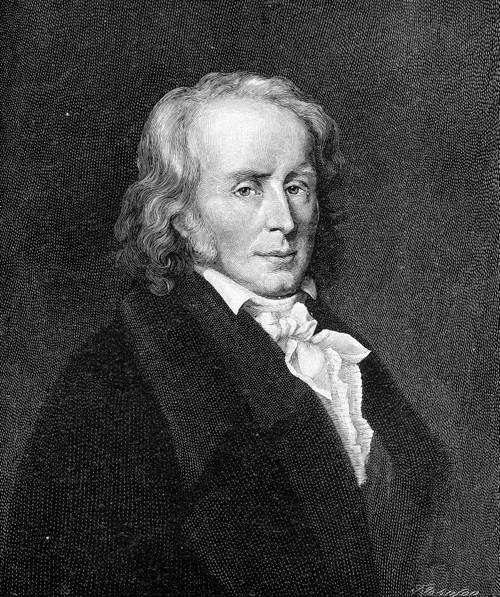 Constant De Rebecque /N(1767-1830). Henri Benjamin Constant De Rebecque. French Writer And Politician. Wood Engraving After The Painting By Lina Vallier. Poster Print by Granger Collection - Item # VARGRC0067812