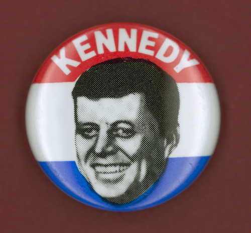 Kennedy Campaign Button. /Ndemocratic Presidential Campaign Button From John F. Kennedy'S 1960 Bid For President. Poster Print by Granger Collection - Item # VARGRC0068321