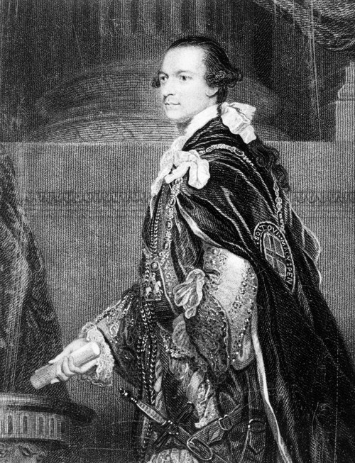 2Nd Marquis Of Rockingham /N(1730-1782). Charles Watson-Wentworth. Line And Stipple Engraving After Sir Joshua Reynolds. Poster Print by Granger Collection - Item # VARGRC0040745