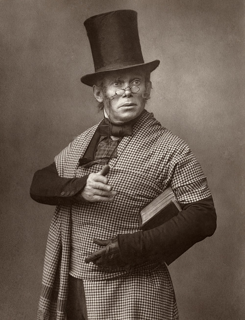 Felix Morris (1845-1900). /Nenglish Actor. Photographed In The Role Of The Scottish Professor In The Broadway Play, 'On Change,' 1886. Poster Print by Granger Collection - Item # VARGRC0325361