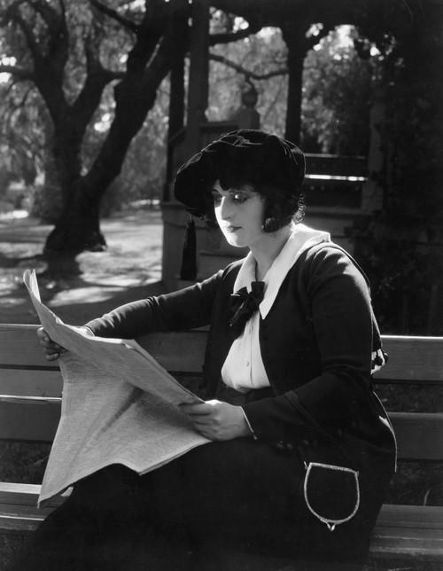 Silent Film Still: Reading./N'The Dangerous Talent,' 1920. Poster Print by Granger Collection - Item # VARGRC0073740