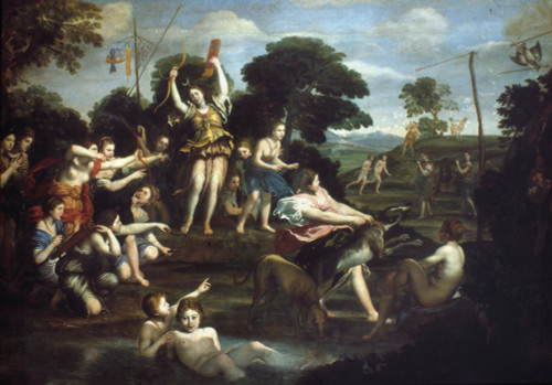 Domenichino: Diana /Nat The Hunt. Oil On Canvas By Domenichino (1581-1641). Poster Print by Granger Collection - Item # VARGRC0041821