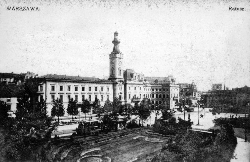 Warsaw: City Hall, C1910. /Nratusz (City Hall) In Warsaw, Poland. Postcard, C1910. Poster Print by Granger Collection - Item # VARGRC0094854