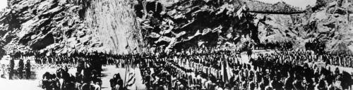 Abel Gance: Napoleon, 1927. /Nscene From The French Director Abel Gance'S Epic Silent Film 'Napoleon,' 1927. Poster Print by Granger Collection - Item # VARGRC0122447