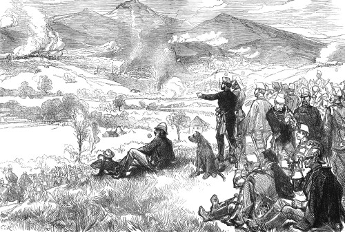 Sarajevo: Bombing, 1878. /Nthe Bombardment Of Sarajevo, Bosnia And Herzegovina, By Austro-Hungarian Forces In August 1878. Wood Engraving From A Contemporary English Newspaper. Poster Print by Granger Collection - Item # VARGRC0030692