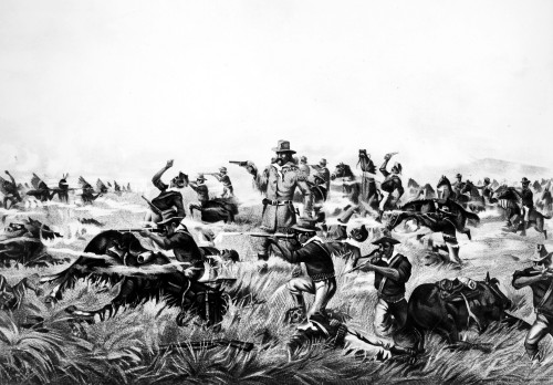 Custer'S Last Fight, 1876. /Nlithograph, American, 1899. Poster Print by Granger Collection - Item # VARGRC0000714