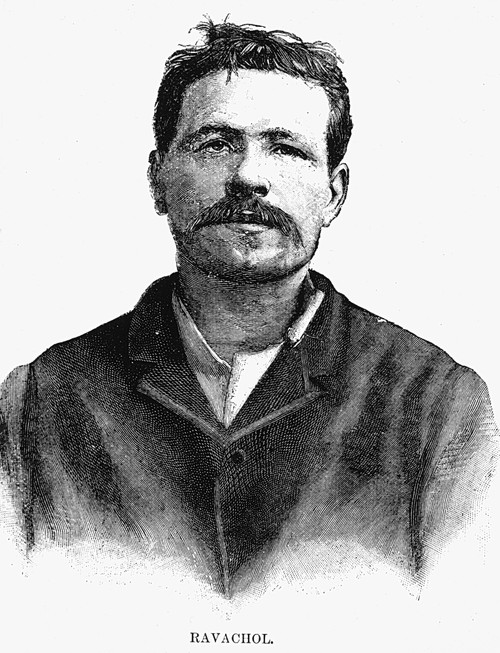 Ravachol (1859-1892). /Nn_ Francois Claudius Koenigstein. French Anarchist. Line Engraving, 1892. Poster Print by Granger Collection - Item # VARGRC0071063