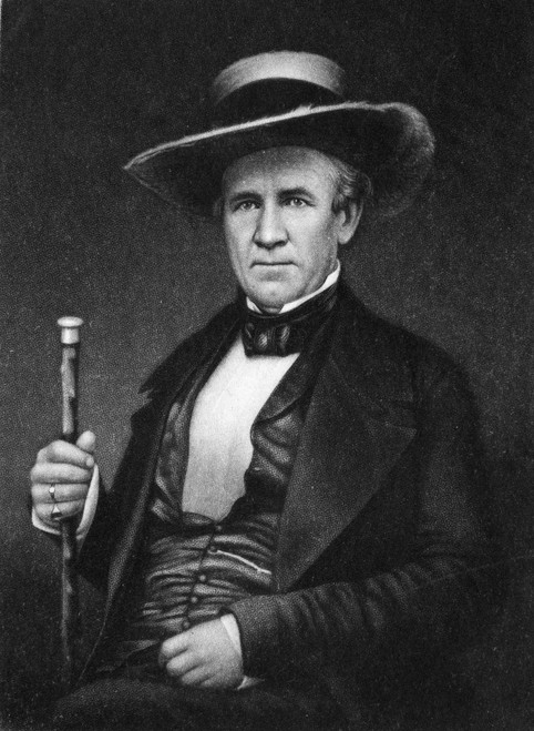 Sam Houston (1793-1863). /Namerican Soldier And Political Leader. Mezzotint, 1877, After A Daguerreotype. Poster Print by Granger Collection - Item # VARGRC0004530