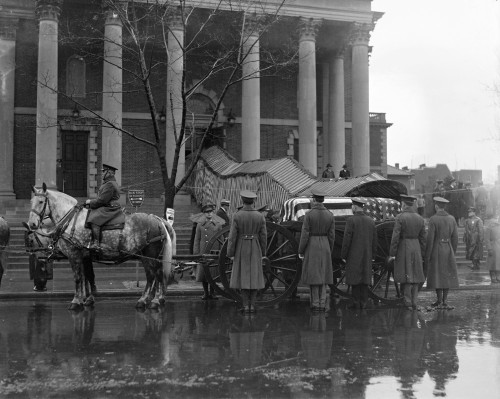 Taft Funeral, 1930. /Nthe Funeral Procession Of William Howard Taft In Washington, D.C., 11 March 1930. Poster Print by Granger Collection - Item # VARGRC0128430