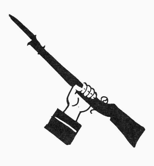 Symbol: Raised Gun. /Nsymbol Of Freedom. Poster Print by Granger Collection - Item # VARGRC0098304