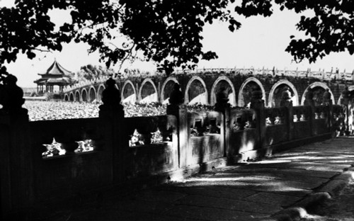Beijing: 17-Arch Bridge. /N17-Arch Bridge At The Summer Palace In Beijing. Photographed C1920. Poster Print by Granger Collection - Item # VARGRC0110118