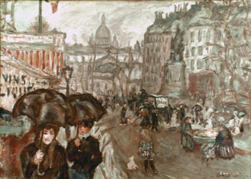Bonnard: Place Clichy, C1895. /Nla Place Clichy, Vue Du Petit Poucet. Oil By Pierre Bonnard. Poster Print by Granger Collection - Item # VARGRC0021097
