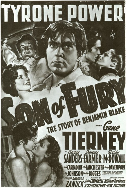 Son of Fury Movie Poster Print (27 x 40) - Item # MOVEF4291
