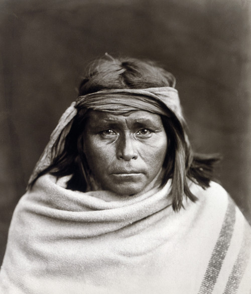 Native American, C1903. /Nportrait Of A Southwestern Native American. Photograph By Edward Curtis, C1903. Poster Print by Granger Collection - Item # VARGRC0114307